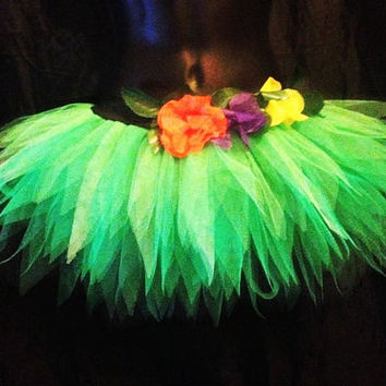 Katy Perry inspired neon Tutu  Roar Costume Outfit  Jungle Tutu Queen Tutu Only