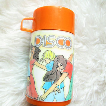 Vintage 1970s Disco Dance 8 oz Aladdin Thermos