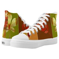 Colours in autumn High-Top sneakers
