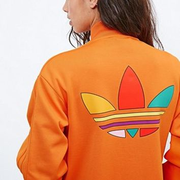 Adidas X Pharrell Supercolor Track Jacket in Orange - Urban Outfitters
