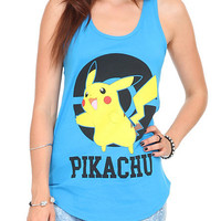 Pokemon Pikachu Poke Ball Girls Tank Top | Hot Topic