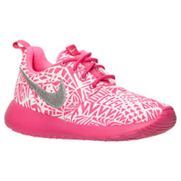 5b9a0efd4ca4 Girls  Grade School Nike Roshe One Print Casual Shoes