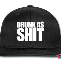 Drunk As Shit Snapback