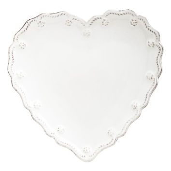 Juliska 'Berry and Thread' Heart Shaped Cocktail Plates (Set of 4) | Nordstrom