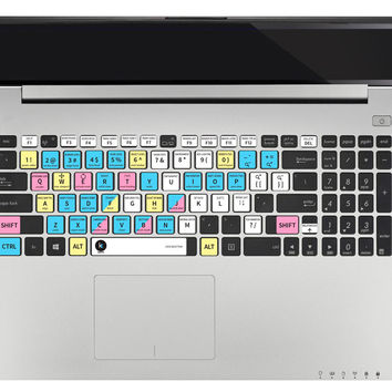 Autodesk 3ds Max Keyboard Shortcuts Sticker