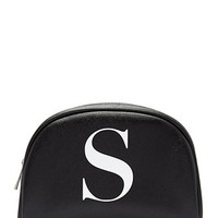 Faux Leather S Pouch