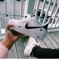 NIKE AIR FORCE 1 AF1 OW Running Sport Shoes Sneakers-2