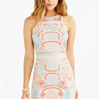 J.O.A. Embroidered Tank Dress
