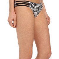 L*Space Ivory Coast Low Down Bottoms Black - 6pm.com