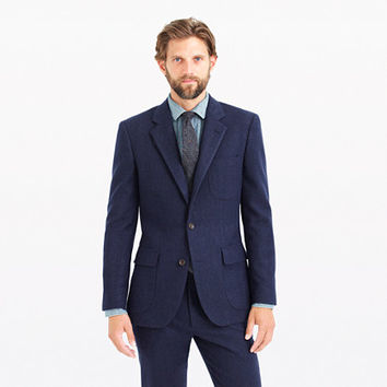 J.Crew Mens Ludlow Fielding Suit Jacket In Water-Resistant Italian Wool