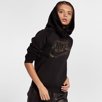 Nike Sportswear Rally Funnel Neck Women's Fleece Hoodie. Nike.com