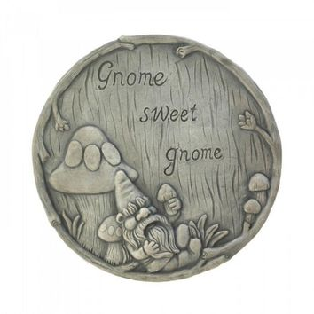 Gnome Sweet Gnome Stepping Stones