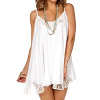 Sale-lace Trapeze Tunic