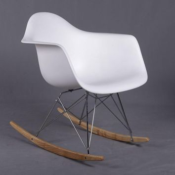 minimalist modern rocking chair