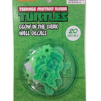 Tmnt Glow in the Dark Wall Decals 20 Pcs