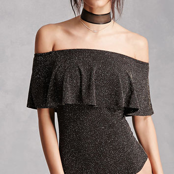 Metallic Shimmer Bodysuit