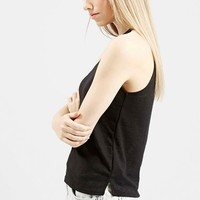 Women's Topshop '70s High Neck Tank,