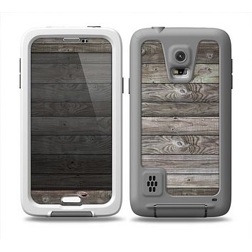 The Rough Wooden Planks V4 Skin for the Samsung Galaxy S5 frē LifeProof Case
