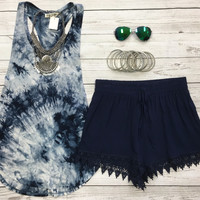 Amazing Day Tank: Navy
