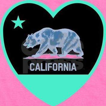 LOVE CALIFORNIA - BRIGHT GIRL'S TEE
