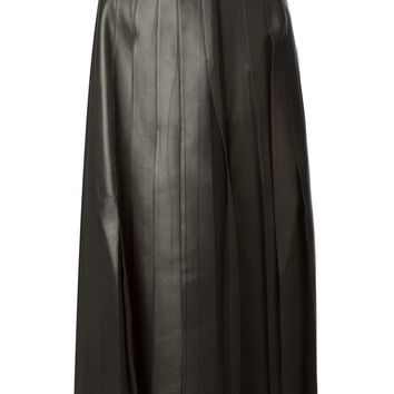 Burberry London volume skirt