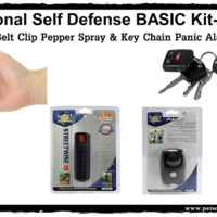 Personal Self Defense BASIC Safety Kit-Black