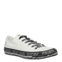 Converse Ctas Classic Ox Trainers White Black White - Hers trainers