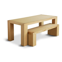 Gus* Modern Chunk Dining Table