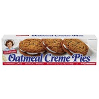 Little Debbie Oatmeal Creme Pies 12 Ct Snacks, 16.2 Oz - Walmart.com