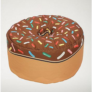 Chocolate Donut Bean Bag - Spencer's