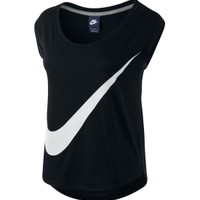 Nike Women's Prep Large Swoosh Training T-Shirt