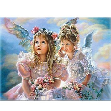 YANXIN DIY Framed Painting By Numbers Oil Paint Photo Wall Art Digital Pictures Painting Decor For Home Decoration Gifts E478
