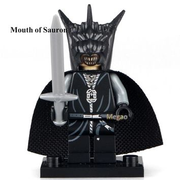 Single Sale PG517 Mouth of Sauron Lord of the Rings Blocks Herr Der Ringe Building Block Kids Toy Children PG8036