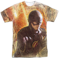 Flash TV Show Flash Town Sublimation Mens T-Shirt