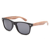 Blue Crown Coffee Wood Temp Classic Sunglasses Wood One Size For Men 26414246101