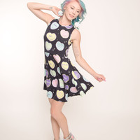 No Sweetheart Skater Dress from Kill Star - Medium