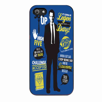 How I Met Your Mother Collage Art d22b7a2f-9fcf-4d08-83ee-01ce73f73997 FOR iphone 5S CASE *RA*