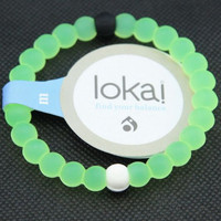Shopnelo Lokai Supports Bracelet  Make-A-Wish For Friendship (light Green)
