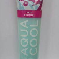 Bath & Body Works HELLO BEAUTIFUL Aqua Cool Aloe Lotion 5.6 oz / 166 ml