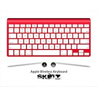 The Solid State Red Skin For The Apple Wireless Keyboard