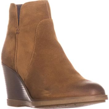 Kenneth Cole REACTION Dot-ation Wedge Ankle Boots, Pretzel, 9.5 US / 40.5 EU