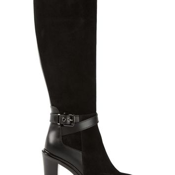 Sergio Rossi buckled knee high boots
