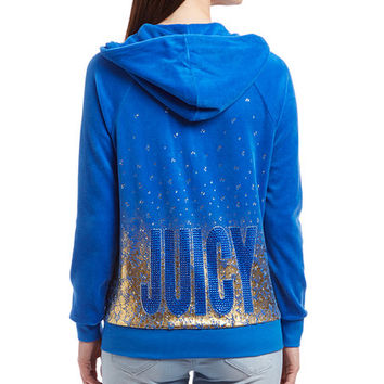 Juicy Couture Summer Rain Lace-Pattern Zip-Up Hoodie Jacket - Women | zulily
