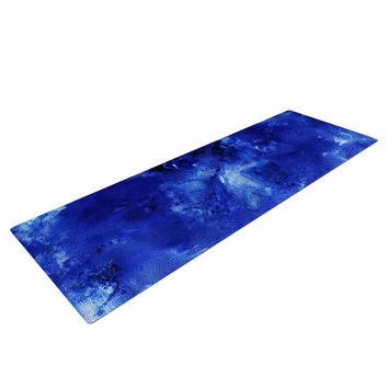 "Nina May ""Saltwater Diamond"" Blue Yoga Mat"