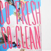Leah Flores For DENY So Fresh So Clean Shower Curtain - Urban Outfitters