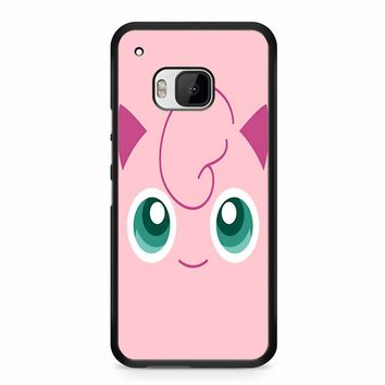 Jigglypuff Face Pokemon HTC M9 Case