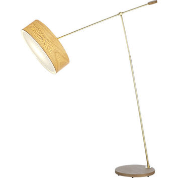 disc floor lamp