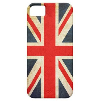 Vintage Union Jack British Flag iPhone 5 Case
