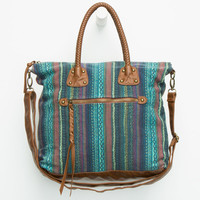 T-SHIRT & JEANS Braided Handle Tote   Totes & Messenger Bags