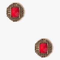 Architectural Stud Earrings